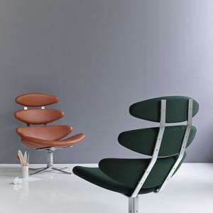 lounge - kontorindretning – Corona – laenestol-design