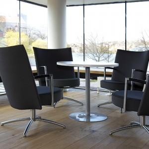 Partner - kontorindretning – loungesaet – laenestol-konference
