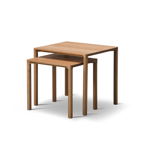 Sofabord – Piloti – indretning-kvadratisk
