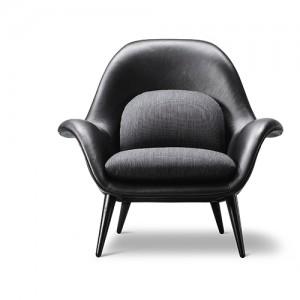lounge - Swoon – loungesaet – laenestol-sort