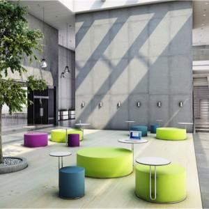 Call -lounge - kontorindretning – loungesaet – sofa