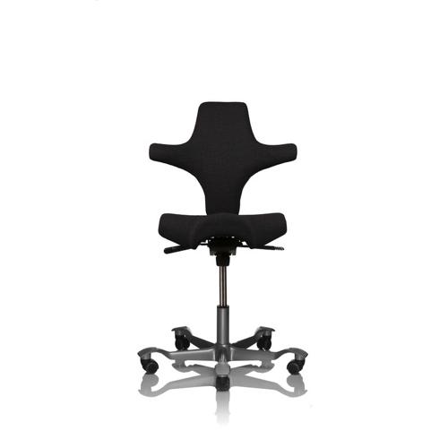 Capisco-Haag-Kontorstole - arbejdsstol – ergonomi – skrivebordsstol-graa