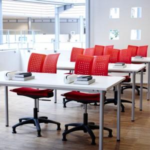 Conventio-Undervisningsmoebler– moedestol – kontorindretning -konferencestole