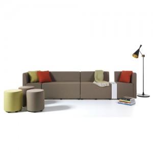 sofa - B - kontorindretning – loungesaet