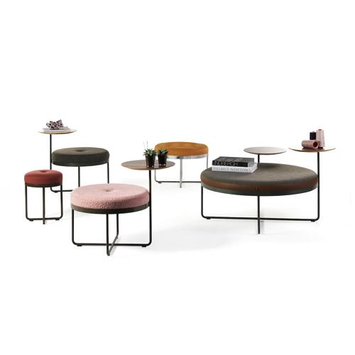 Shima-sofa - lounge - kontorindretning – sidebord-puf
