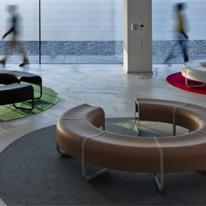 Modulsofa -Za - kontorindretning – loungesaet