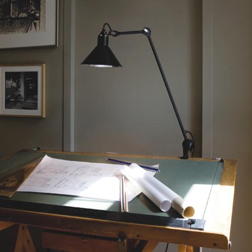 201 no lampe gras design arkitektlampe til for Lampen kontor