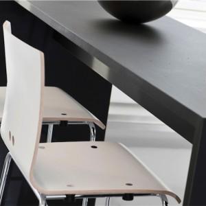 Kantinestol –Log– kontorindretning -konferencestole