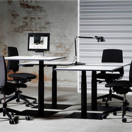Note-haevesaenkebord - arbejdsstation – kontor-arbejdsstation