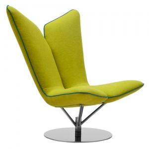 Angel - kontorindretning – loungesaet - laenestol-groen