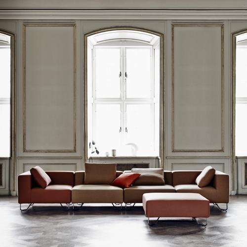 Lotus-Modulsofa - lounge - kontorindretning – loungesaet