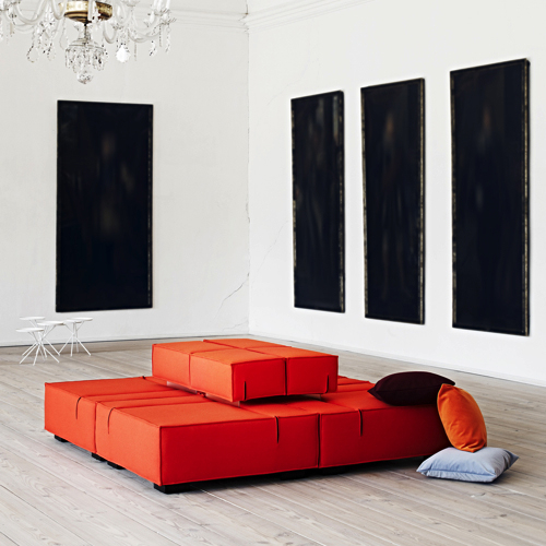 Universal-Modulsofa - lounge - kontorindretning – loungesaet