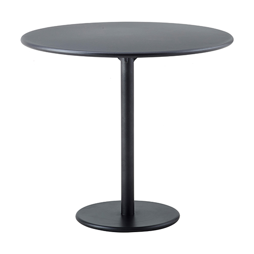 Cafebord – sort - udendoers-Go