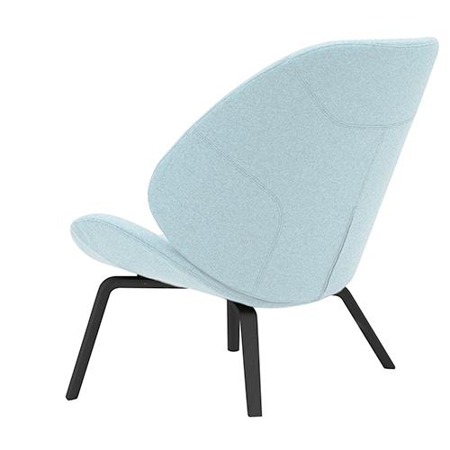 stol formet som en s