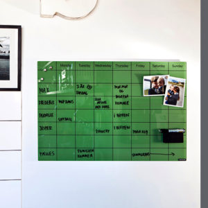 Chat Board - Planner - Glastavler - Tavler - Kalender - Kontortilbehoer