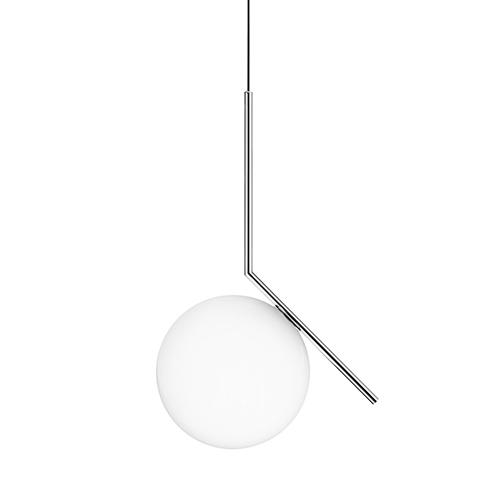 Flos - IC - LIGHTS - S-brass---Lamper---Arbejdslampe---Kontorindretning---Belysning---Design---Pendel