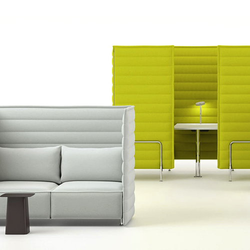 Vitra - Alcove - Sofa - Akustik - Loungeindretning