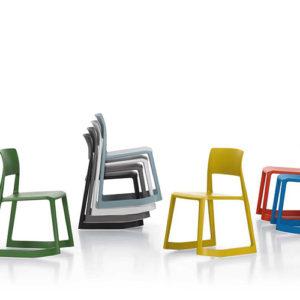 Vitra - Tip- Ton - Moedestole - Kantinestole - Kontormoebler - Design - Vipper-