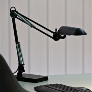 kontorlamper – verit – arbejdslampe - bordlampe – sort