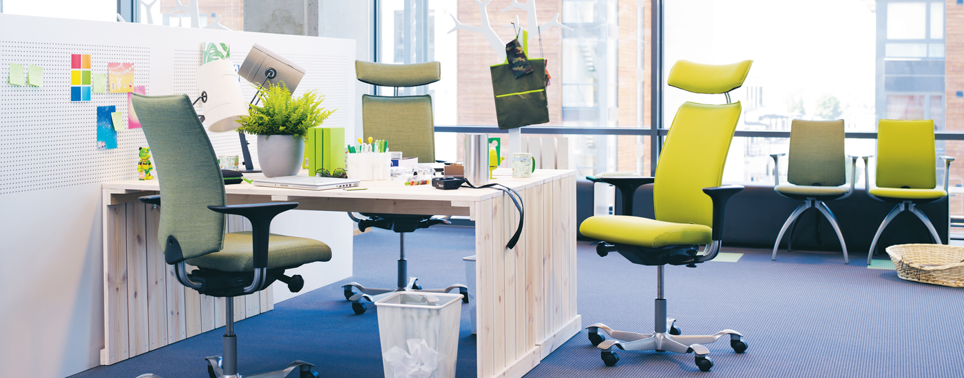 HAAG -Kontorindretning -kontormoebler