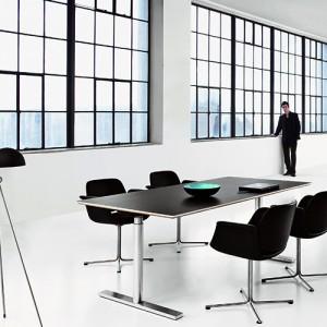 Flamingo – moedestol – kontorindretning -konferencestole