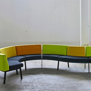 Modulsofa - Global - kontorindretning – loungesaet