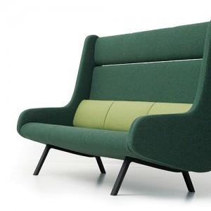 In -Duplo - lounge - kontorindretning – loungesaet-akistik