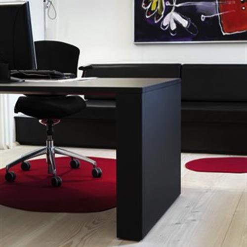 Filt stoleunderlag Akustik filt kontorstoleunderlag til