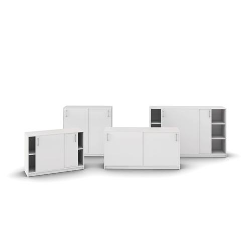 Jive-Kontoropbevaring – kontorskabe – kontorindreting – skabe - hvidt