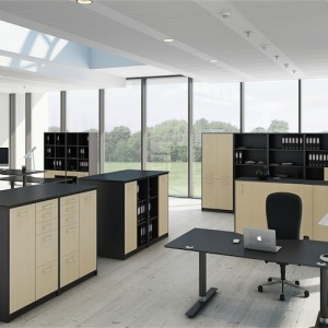 Jive-Kontoropbevaring – kontorskabe – kontorindreting – skabe med laas