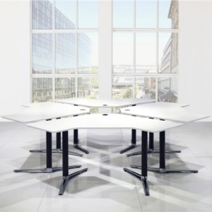 kontormoebler - kontor– Switch - hvidt - havesaenkebord