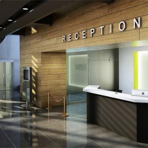 Reception - skranke - desk – kontor-Tempo