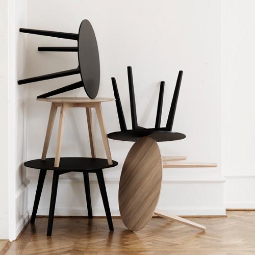 Sofabord – lounge – Cirkel