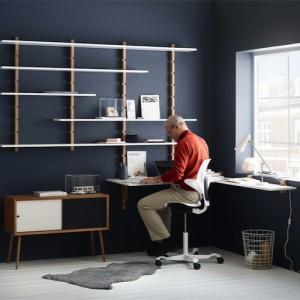 Capisco -Haag- arbejdsstol – ergonomi – skrivebordsstol-hjemmekontor