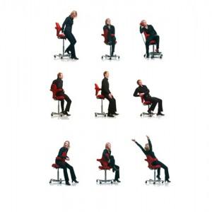 Capisco-Haag-Kontorstole - arbejdsstol – ergonomi – skrivebordsstol-siddestillinger