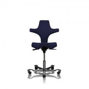 Haag-Capisco - arbejdsstol – ergonomi – skrivebordsstol-blaa