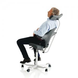 Kontorstole -Haag-arbejdsstol – ergonomi –Capisco