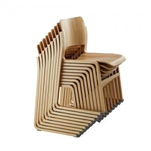Kantinestol – moedestol – 404 -konferencestole-stabelstole-trae