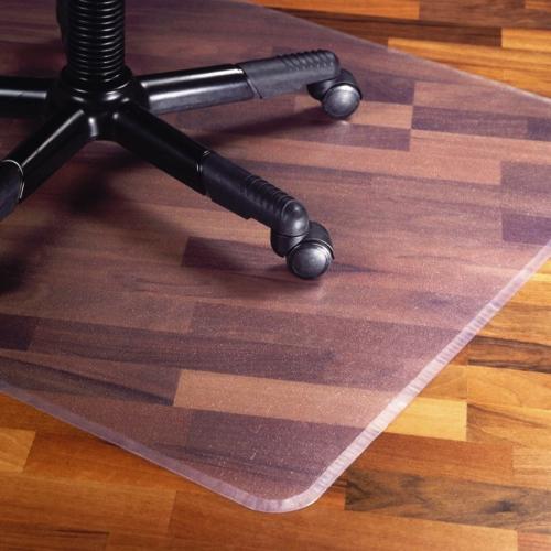 PVC -beskyttelse- kontorstol - stoleunderlag