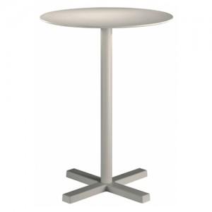 Cafebord – barbord - hvidt-Bold