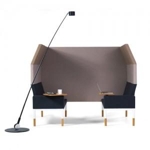 Reform - lounge - kontorindretning – loungesaet-akustik