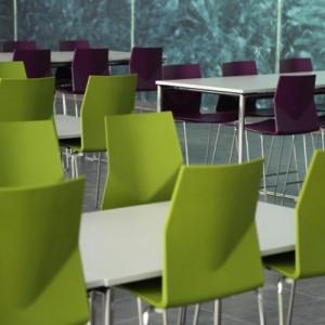 Stabelstole - farver - kantinestol-Learning