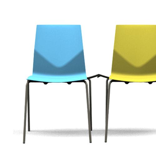 Cast-Stabelstole - farver - Learning -moedestol