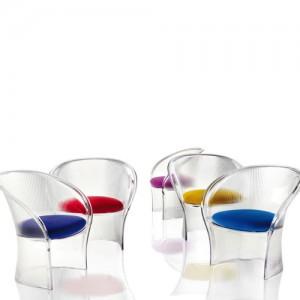 Udendoersmoebler – Flower – havemoebler - gennemsigtigt