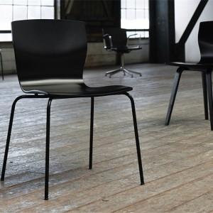 Kantinestol – Butterfly – kontorindretning -konferencestole-skandinavisk-design