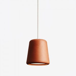Lamper -pendel - design–Material-orange