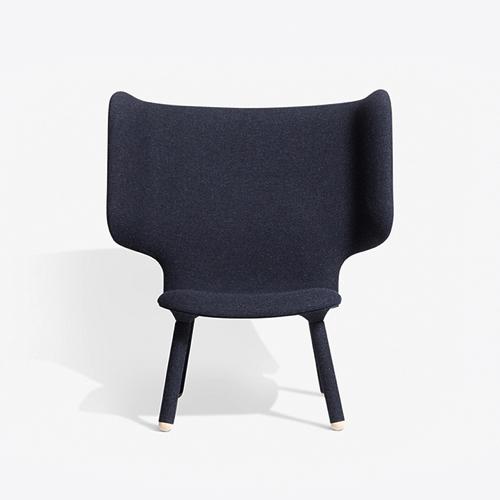 lounge - kontorindretning –Tempo – laenestol-graa
