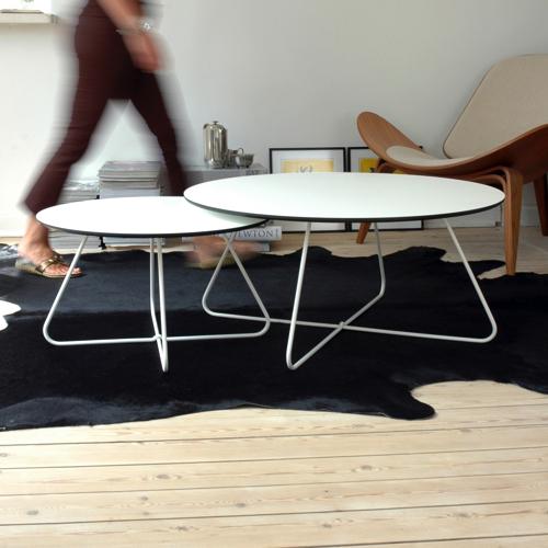 Sofabord – lounge – R-hvidt