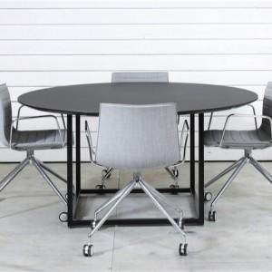 Square-Moedebord- kantinebord-sort-rundt