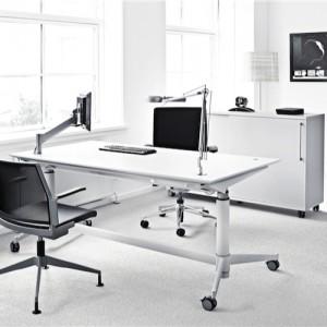 haevesaenkebord - arbejdsstation – Zetby-hvidt